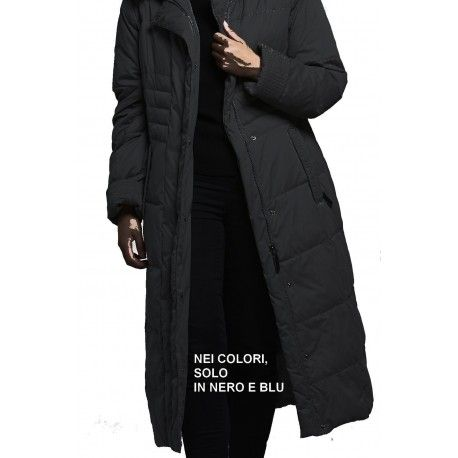 f19c1474ed Piumino Lungo Donna Taglie Forti e comode 54 56 58 60 CJC Loft Fashion  invernale cappuccio