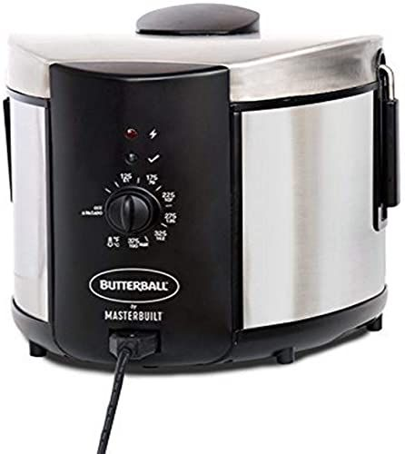 Buy Masterbuilt Butterball Mb23015018 Electric Fryer 5 L Stainless 5l Standard Online Chicprettygoods In 2020 Electric Fryer Outdoor Christmas Lights Christmas House Lights