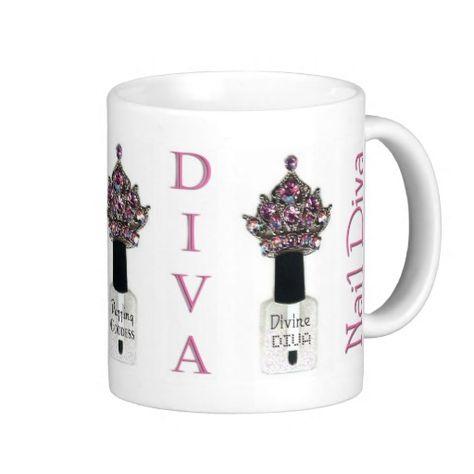 Nail Diva mug