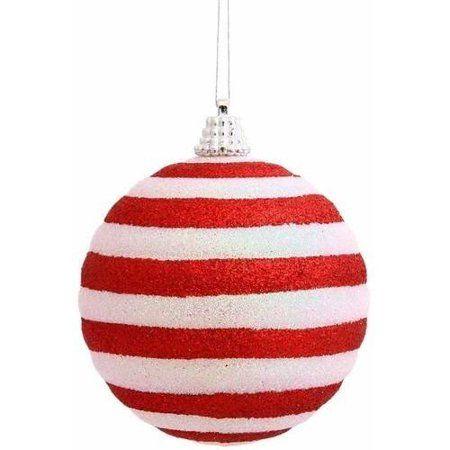 Vickerman Christmas Ornaments Walmart Com Candy Cane Stripes Christmas Ornaments Peppermint Christmas