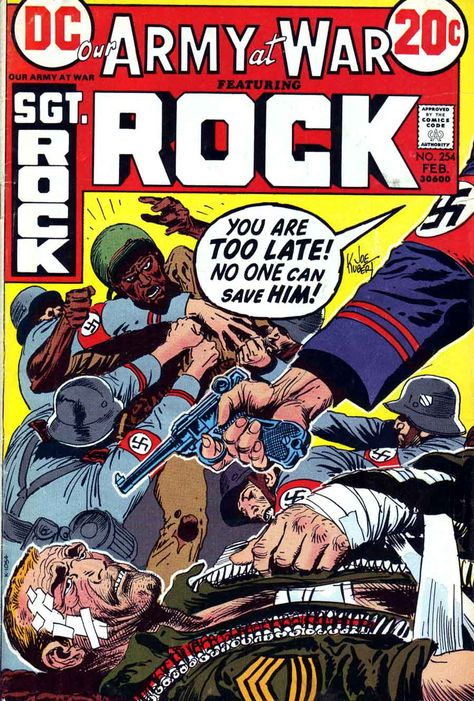 Our Army At War 254 - Sgt. Rock - Joe Kubert