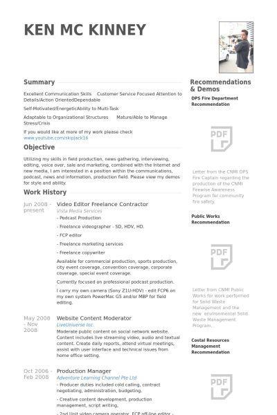 Cv Template Video Editor 1 Cv Template Resume Format In 2020 Resume Format Download Downloadable Resume Template Video Resume