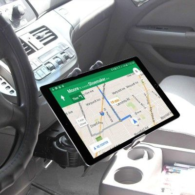 "Console Mount Holder for iPad PRO 11/"" 2018 Permanent Car Van Truck Dashboard"