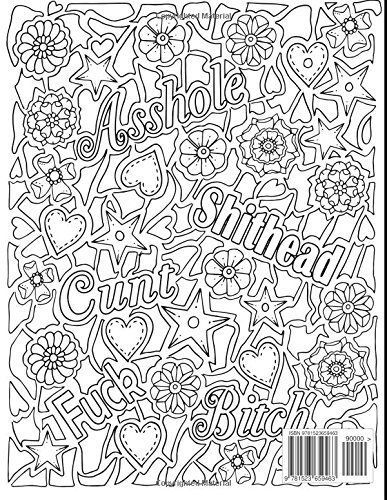 The Sweary Coloring Book For Adults Love Coloring Pages Sweary Coloring Book Coloring Pages