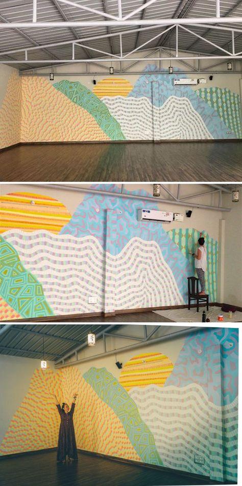 Murals - Samadhi Mountain Range