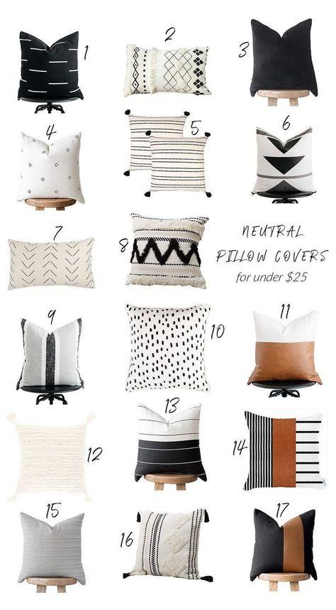 Neutral Pillows, Handmade Pillow Covers, Handmade Pillows, Decorative Pillows For Bed, Throw Pillow Covers, Modern Pillows, Scandinavian Pillows, Boho Throw Pillows, Home Decor