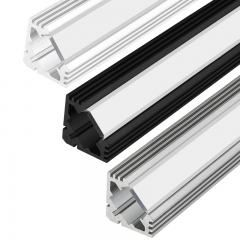 Heavy Duty Low Profile Aluminum Profile Housing For Led Strip Lights Klus Hr Alu Series Led Strip Lighting Led Aluminum Profile Strip Lighting