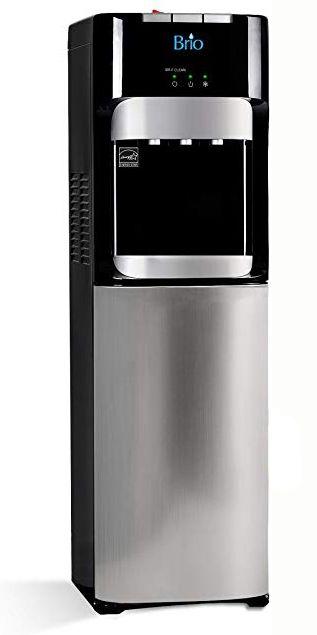 Brio Commercial Grade Bottleless Ultra Safe Reverse Osmosis Drinking Water Filter Cooler Dispenser Review Water Dispensers Dispenser Brio