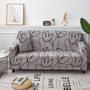 Sofa Cover Slipcovers Elastic Couch Case For Different Shape In 2020 Floral Couch Slipcovers For Chairs Couch Covers
