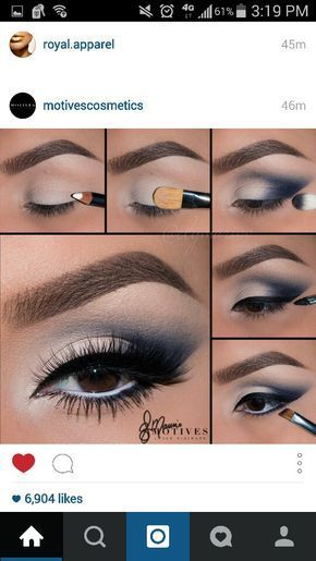 Navy Blue More Navy Eye Makeup Eye Makeup Navy Makeup
