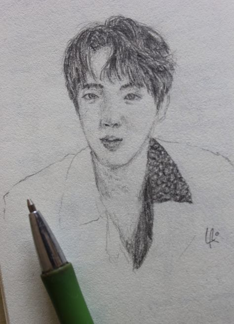 I Never Knew Drawing Jin Is That Difficult It S Still Wip And