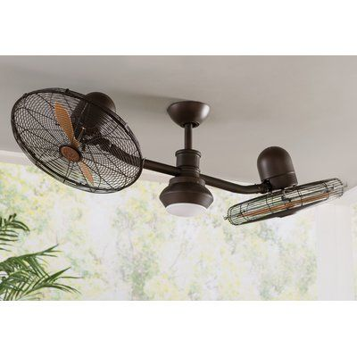50 Mansell 2 Blade Ceiling Fan With Remote Ceiling Fan Ceiling