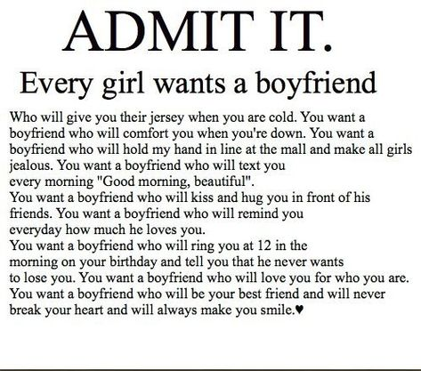 Yeah :( but like that'll ever happen :( boys like that exist in fairy tales an movies.