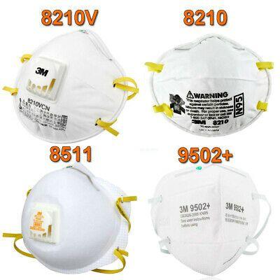 Ad Ebay 1 50pc 3m 8210 8210v 8511 9502 Respirador De Particulas Pm2 5 Mascara Antipolvo Protective Eyewear Dust Mask Masque