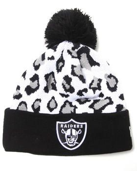 Buy Oakland Raiders Team Snow Leopard Knit Hat Men's Hats from New Era. Find New Era fashions & more at DrJays.com