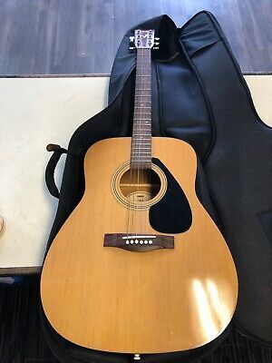Yamaha F310 Acoustic Guitar F 310 With Case Acoustic Guitar Left Handed Acoustic Guitar Guitar