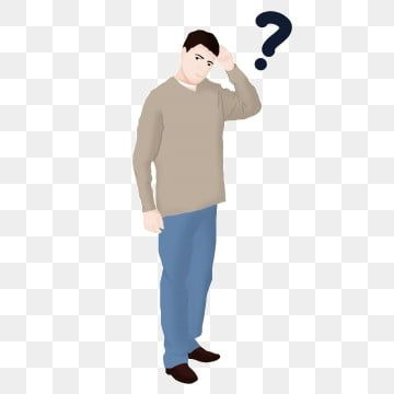 Men S Question Mark Face Png Picture Material Simple Flat Thick Png Transparent Clipart Image And Psd File For Free Download Question Mark Face Man Clipart Clip Art