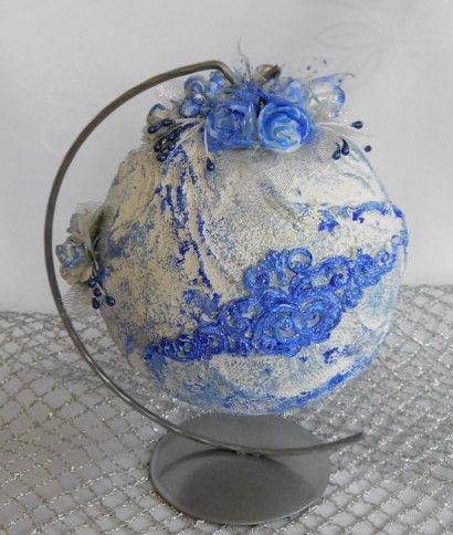 Bombka Stojak Boze Narodzenie Handmade Prezent 7671113170 Oficjalne Archiwum Allegro Decor Vase Mixed Media