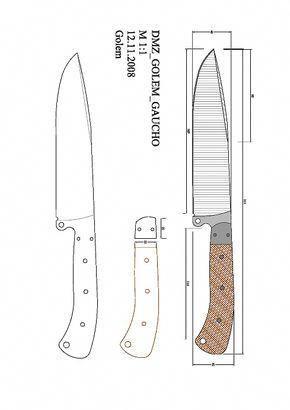 Knife Making Templates Weldingtable Fabricacao De Facas Facas Artesanais Faca Gaucha