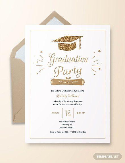 Graduation Invitation Templates Free Download Luxury 22 Graduation Invitatio Graduation Invitations Template Graduation Invitation Cards Graduation Invitations
