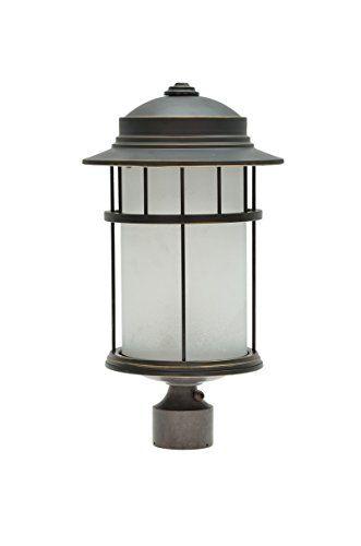 Aspen Creative 60005 1 Light Medium Outdoor Post Light