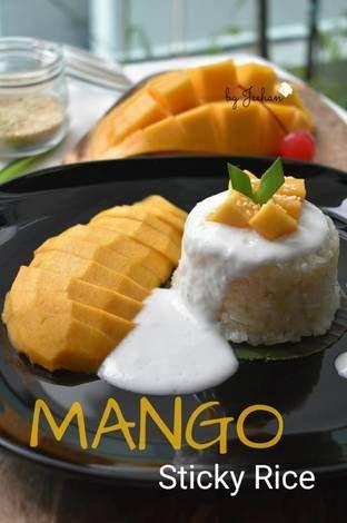 Resipi Mango Sticky Rice Oleh Jeehan Kitchen Resep Nasi Mango Sederhana