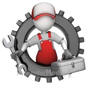 Stick Figure Tightening With Wrench 3d Animated Clipart For Powerpoint Presentermedia Com Clip Art Powerpoint Animated Clipart