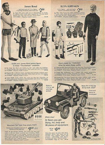 Sears 1966 Christmas Catalog page 515 | I am not the copyrig