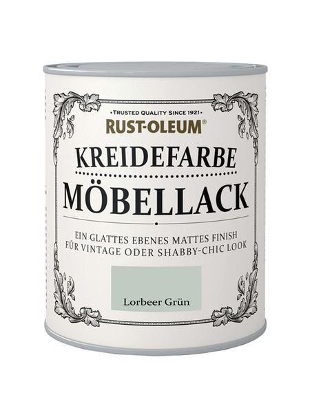 Rust Oleum Mobellack Kreidefarbe Lorbeer Grun Kreidefarbe
