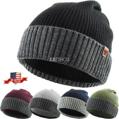 5b2868b71d2 Discover ideas about Ponytail Beanie. Kimons Lined Visor Trapper Pom Ear  Flap Baggy Beanie Hat Knit Winter Ski Cap Skull Acrylic
