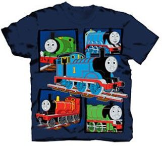 Transportation Silhouette Baby Bodysuit Graphic Shirts-Train