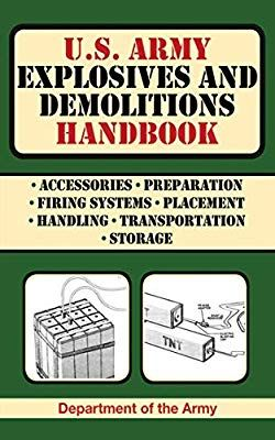 Army Explosives and Demolitions Handbook (US Army Survival) Used Book in Good Condition Survival Books, Survival Prepping, Emergency Preparedness, Survival Skills, Survival Gear, Survival Weapons, Survival Stuff, Special Forces Training, Apocalypse Survival