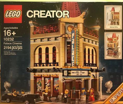 Lego Modular Factory Sealed Set RARE Palace Cinema New in Box 10232 City//Town