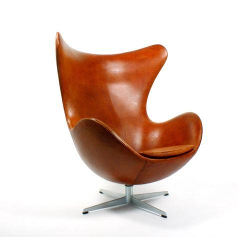 Happy Easter Arne Jacobsen Fritz Hansen Leather Egg Leather