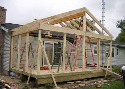 65 Ideas Yard Deck Ideas Built Ins In 2020 Room Addition Plans Four Seasons Room 4 Season Room