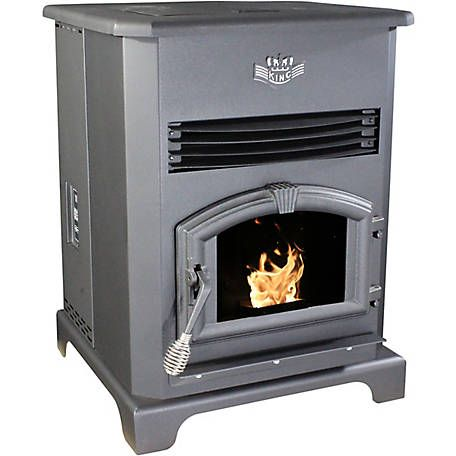 King Deluxe Pellet Stove Kp130 At Tractor Supply Co Pellet Stove Stove Pellet Burner