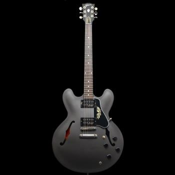 Gibson Es 335 Government Series Matte Black Pre Owned In 2020