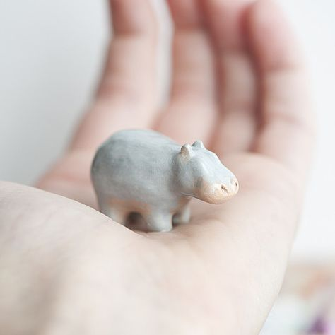 Carry le grounded hippo with you and bring yourself back down to earth. // le animalé