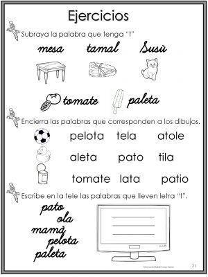 Comprobar Decimo Del Niño 2013 50 Ejercicios De Lecto Escritura Para Preescolar Y Primaria 010