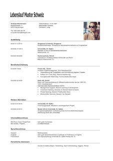 Lebenslauf Schweiz 2 Wichtige Dokumente Kitchen Design Carole Design