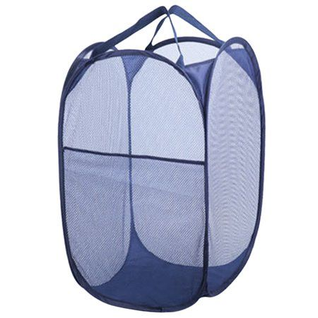 Outgeek Laundry Bag Household Collapsible Mesh Laundry Hamper