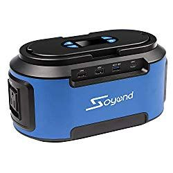 Soyond Solar Generator 222wh 60000mah Portable Power Station With 110v Ac Outlets 4 Dc Ports Usb Quick Charger 3 0 Emergency Rechargeable Power Inverter For Solar Generator Portable Power Best Solar Panels