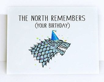 Game Of Thrones Printable Birthday Card Fresh Game Of Thrones Card