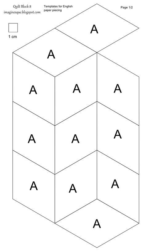 Berühmt Frei Druckbare Hexagon Vorlage Bilder ...