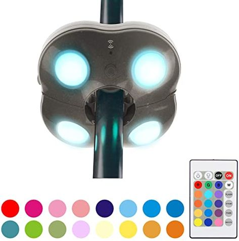 Shop For Honwell Patio Umbrella Light Outdoor Wireless Battery Operated Led Umbrella Lights Remote Control 16 Color Changing Umbrella Pole Light Camping Ligh In 2020 Umbrella Lights Outdoor Umbrella Lights Patio Umbrella Lights