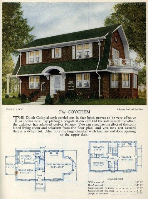 Vintage Home Designs The Coyghem American Home Design House Design Vintage House