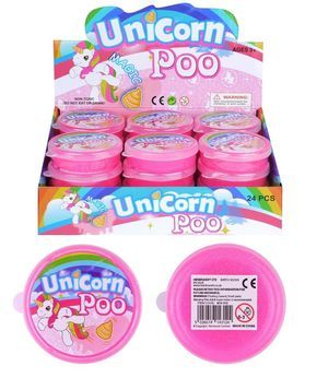 Unicorn Poo Putty Pink Unicorn Slime Poo Squishy Putty Slime Tub Girl/'s Party