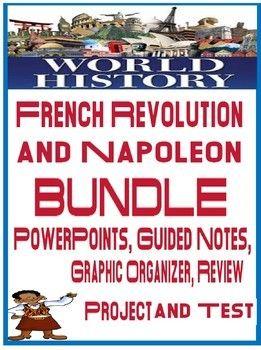 World History French Revolution Napoleon Unit Bundle Powerpoint Guided Notesincludes Unit Schedule Daily L World History Guided Notes Scientific Revolution