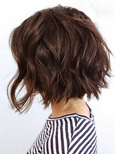 Short Hairstyle For Older Woman With Fine Thin Hair (With images ...
