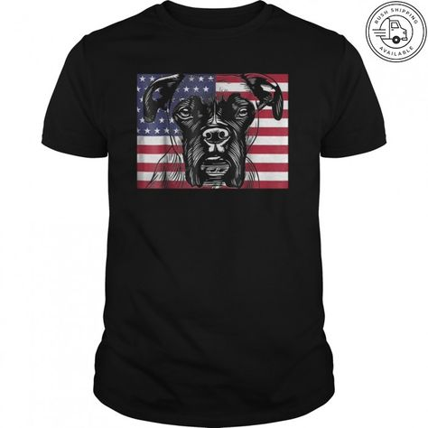 USA 4th of July T-shirt. Funny Boxer Dog wearing American flag hat . Gifts  for men women kids. Perfect for dog lovers who love to pet dogs puppies cefc8fd452e